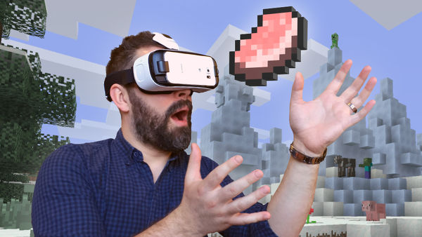 Minecraft, presto disponibile sul Gear VR di Samsung