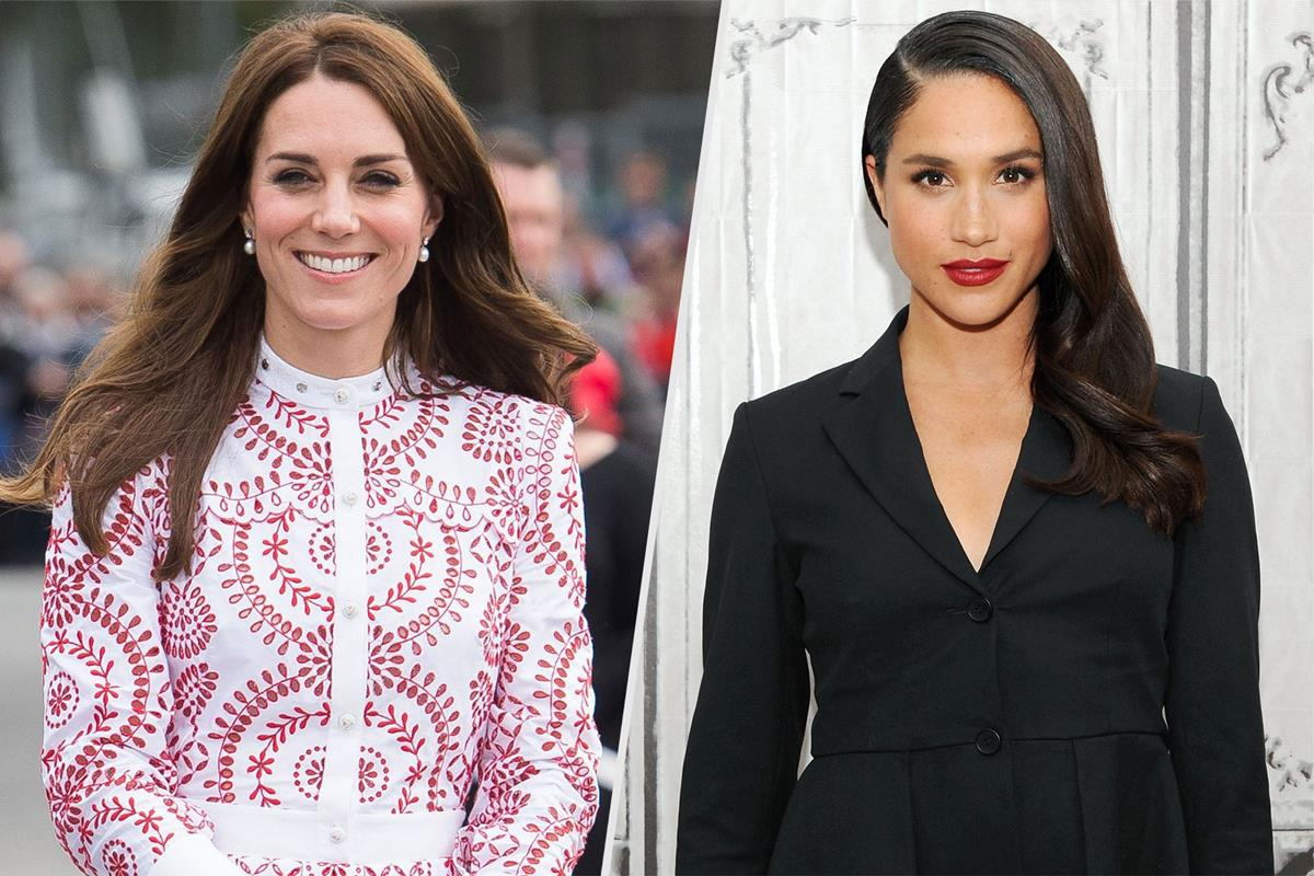 Kate e Meghan: le differenze di stile alla corte di Elisabetta